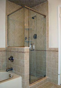 corner shower - Google Search