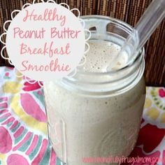 Healthy Breakfast Smoothie Recipes -- the BEST recipe! It's been pinned over 10,000 times! Perfect for everyone in the family - can be used as a meal replacement in a pinch!