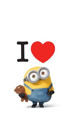 Uploaded by Melanie Lopez. Find images and videos about text, wallpaper and minions on We Heart It - the app to get lost in what you love. Minions Bob, Minion Art, Minions Images, Minion Pictures, Minions Quotes, Funny Minion, Cute Minions Wallpaper, Minion Wallpaper Iphone, Disney Phone Wallpaper