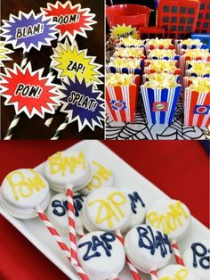 Ideas aperitivos cumpleanos spiderman
