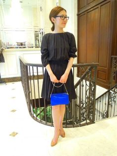 Black Dress by Boy Girl (band of outsiders) #japanesefashion
