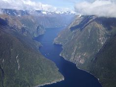 Photo taken from the mouth of Milford Sound looking inland Milford Sound, Water, Travel, Outdoor, Gripe Water, Outdoors, Viajes, Destinations, Traveling