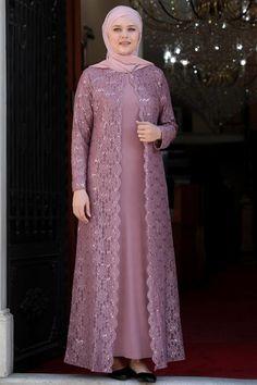 Dress Muslim Modern, Muslim Dress, Abaya Fashion, Muslim Fashion, Fashion Dresses, Hijab Evening Dress, Dress Brokat, Evening Dresses Plus Size, Pakistani Dress Design