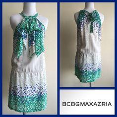 Flash Sale! Bcbgmaxazria Silk Heart Dress
