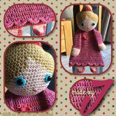 Little Princess!! Uit het boek gehaakte lappenpoppen van Sascha Blase van Wagtendonk