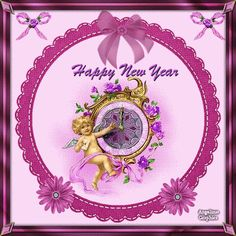 A new year has arrived And I just want you to know that I'm thinking about you and sending you my best wishes for a bright new year.  Happy New Year!  May the new year be all that you hope and much more. May this be the year that your fondest dreams come true