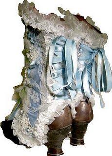 French Nouveau Romantic Spats #spats