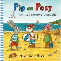 Pip en Posy en het nieuwe vriendje is een leuk prentenboek van Axel Scheffler…