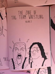 Hey, I found this really awesome Etsy listing at https://www.etsy.com/uk/listing/267322455/the-zine-of-tag-team-wrestling-volume-2