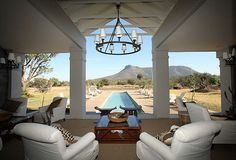 Heart-stoppingly beautiful, is how award-winning Samara Private Game Reserve in the Eastern Cape, is ultimately described. Elegant lodges provide luxury accommodation nestled between an amphitheatre of mountains on 70,000 acres, where wildlife roams again.