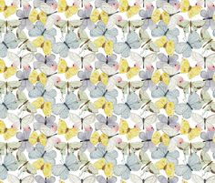Spring Butterflies fabric by valerinick_ on Spoonflower - custom fabric