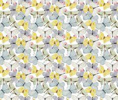 Spring Butterflies fabric by valerinick_ on Spoonflower - custom fabric