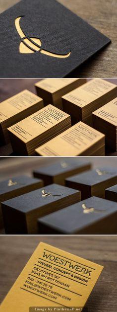 Woestwerk Business Card by Woestwerk :: laser-cut and letterpress