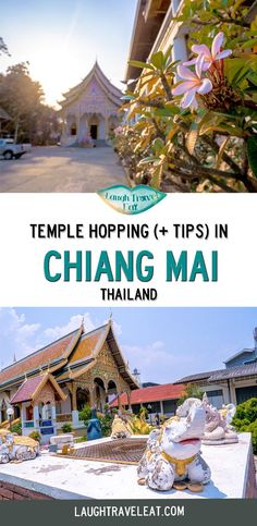 Chiang Mai Temples are a famous sight; there are a million and one temples in Chiang Mai, just as there are a million and one churches in Rome. A country that's dedicated to Buddhism, here are the best practices on visiting a temple and the best one to see: #ChiangMai #Temples #Thailand