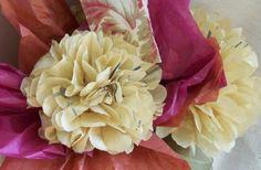 Fiori di carta velina: tutorial per realizzare facili composizioni floreali