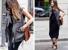 dress and vest casual