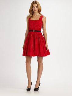 Classic Little Red Dress.