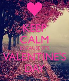 KEEP CALM BECAUSE IT'S VALENTINE'S DAY Keep Calm Posters, Keep Calm Quotes, Im Sad, Stay Calm, Love Heart, Happy Valentines Day, Girly Things, Life Lessons, Neon Signs