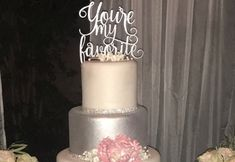 This is a phrase I say to my husband every day. I used to say it when we were dating too, so it was only fitting it be our cake topper for the wedding. You're getting a glimpse into my special day! What made yours special? Do you have a phrase you always repeat to each other? What is it? Please share and tag a friend you know would love this!  #Favorite #PSWeddingsAndEvents