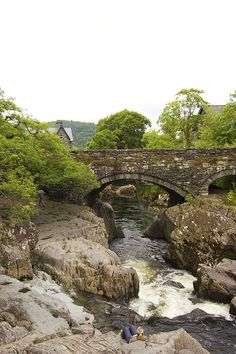 Betws-y-Coed, Wales A beautiful, rugged small town which we loved visiting as often as we could