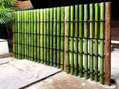 Bamboo Art, Bamboo Crafts, Landscaping Retaining Walls, Backyard Landscaping, Bamboo Garden Fences, Bamboo House Design, Bamboo Screening, Bamboo Building, Bamboo Structure