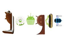This is my first google doodle for android