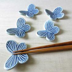 (2個セット)蝶々の箸置き