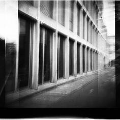 arch. Peter Märkli, Schule im Birch, Zurich photo: Magdalena Szczesna Holga 120