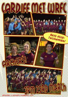 BUCS Finalists #archers #CardiffMet
