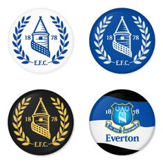 "EVERTON Football Club 1.75"" Badges Pinbacks, Mirror, Magnet, Bottle Opener Keychain http://www.amazon.com/gp/product/B00K30YQZM"