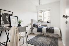 #styling #homestyling #bedroom #sovrum Hörnlägenhet i Fredhäll | Move2