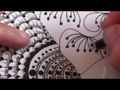 Zendoodle Sampler Zentangle Pattern Styles Tutorial 2