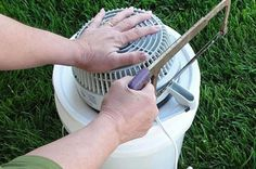 DIY Portable Bucket Air Conditioner (with Pictures) Bucket Air Conditioner, Diy Air Conditioner, Five Gallon Bucket, Diy Generator, Pipe Table, Building A Chicken Coop, Ares, Backyard Projects, Home Repair