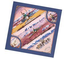 Hermes scarf 90: Groenland