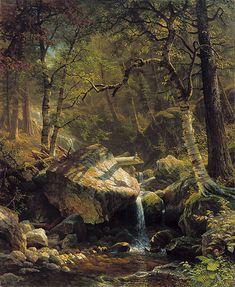 bierstadt mountain brook art institute of chicago - Google Search