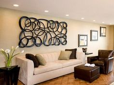Tips for Decorating Living Room Walls: Contemporary Decorating Living Room Walls – MapSoul