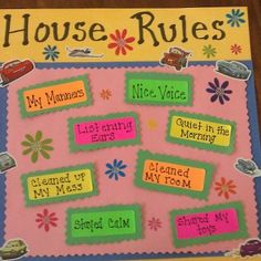 house rules for preschoolers great printable but mine aren 39 t preschoolers any more and still. Black Bedroom Furniture Sets. Home Design Ideas