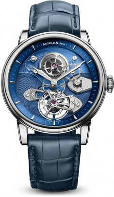 215d1f3e8f4 Arnold  amp  Son TES Blue Tourbillon True to English watchmaking heritage