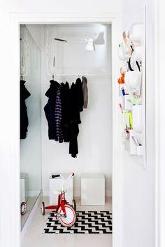 DIY clothing rack by Susanna Vento   Scandinavian Deko