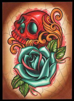 Tony Ciavarro. Amazing Artist / Tattooist . Love his work