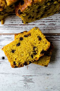 Give Recipe | Chocolate Chip Pumpkin Bread | http://www.giverecipe.com