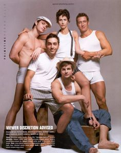 We Must get this series and watch it from afar and share in all it,s glory !! Queer as Folk (2000-05, Showtime)