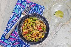 Sunday Supper {Quinoa Salad}