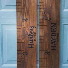 Personalized Growth Chart Ruler | Little River Designs  www.littleriverdesigns.com www.littleriverdesignsga.etsy.com  #littleriverdesigns #growthchart #growthchartruler #personalizedgift #babyshowergift #etsy