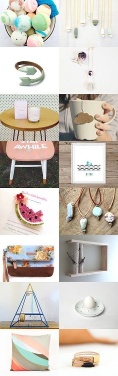 Spring Dreams by Flora on Etsy--Pinned with TreasuryPin.com