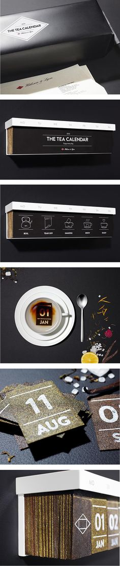 The Tea Calendar — Each day infuse a different tea in hot water