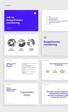 Brand & Visual Identity for ISECO, an expert in the field of Internet security. Presentation Slides Design, Corporate Presentation, Presentation Design Template, Presentation Layout, Corporate Design, Company Presentation, Corporate Brochure, Ppt Design, Keynote Design