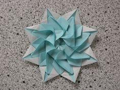 Sun, variation | One octagon of kami A variation of the 9 model. Flickr - Photo Sharing! _ Mélisande*