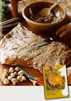 """Veal Roulades With Stuffing – Kalverulade Fylt MedFarse - A recipe from """"Hei Mat"""" (Hello Food) published by a Norwegian book club in 1975"""