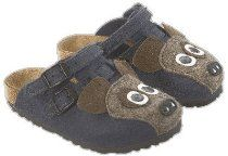 Birkis clogs Kay Tiermotiv in size 26.0 N EU made of Birko-Felt in Felt Dog with a narrow insole